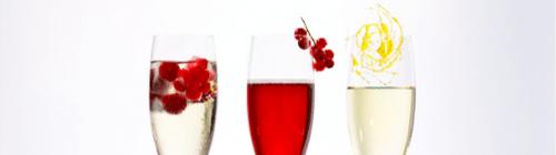 Alkoholfreie Fruchtseccos