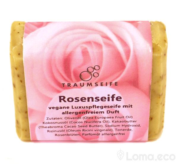 "Seife mit Rosenduft ""Rosenseife"""