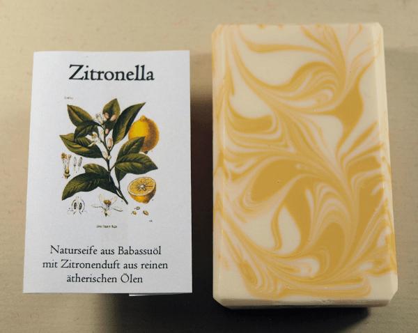 "Naturseife ""Zitronella"""